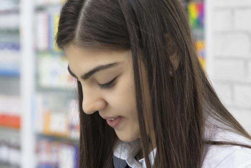 Young schoolgirl representing PROMs