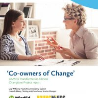 Co Owners of CAMHS Change report