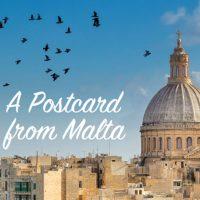 A postcard from Malta