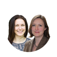 Dr. Alexandra Pitman and Dr. Sarah Rowe